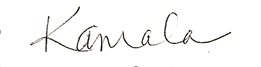 kamala signature